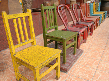 Refurbished chairs