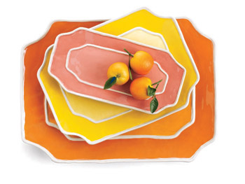 The Decor Home List: Serving Platters :  home dishes retro kitchen
