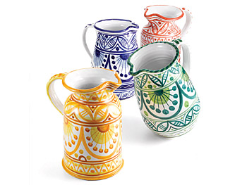 The Décor Home List: Ceramic Pitchers :  home accessories designer design