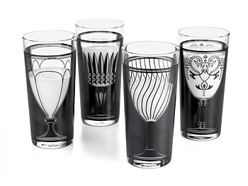 The Décor Home List: Vintage Tumblers :  home tableware o at home modern