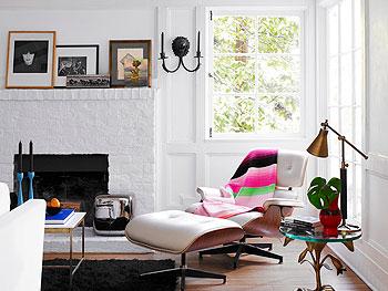 Jennifer Carpenter's living room