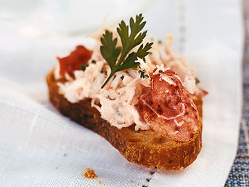 Lobster Salad with Herb Croutons