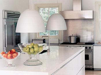 Katleen Van Roost's Hamptons kitchen