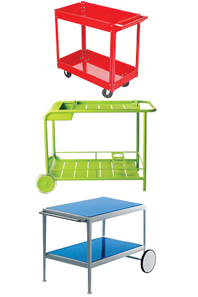 Pop bar carts