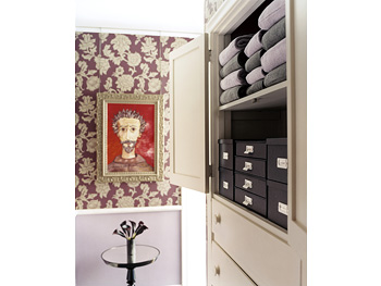 Creative hall closet space