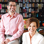 Michael Silber and Tracy Garet