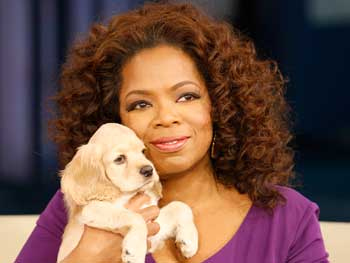 Oprah and Sadie