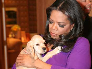 Sadie and Oprah