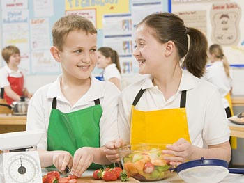 Learn to cook and bake alongside your children.