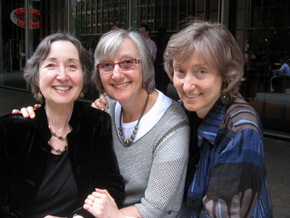 Naomi, Mimi and Deborah