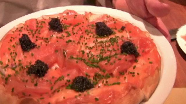 Wolfgang Puck's Smoked Salmon Pizza - Video
