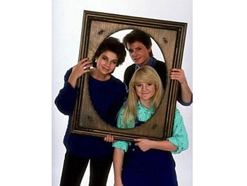 The Keatons from Family Ties