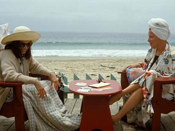 Bette Midler and Barbara Hershey in Beaches
