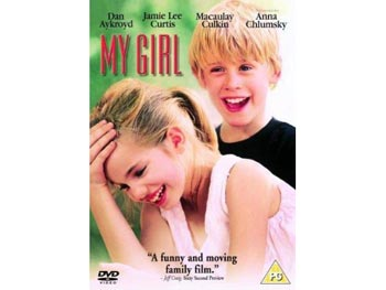 Macauley Culkin and Anna Chlumsky in My Girl