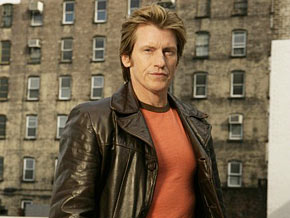 Denis Leary on the set of Rescue Me