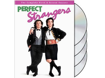 Balki Bartokomous and Larry Appleton on Perfect Strangers