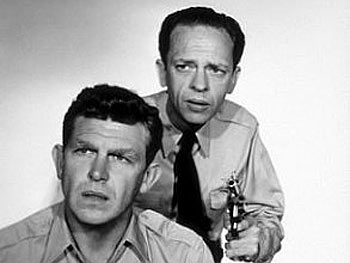 Barney Fife on The Andy Griffith Show