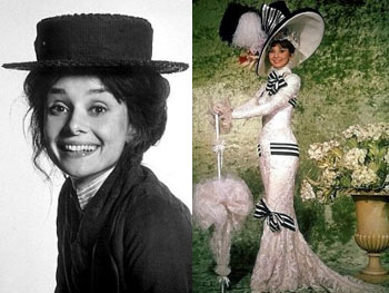 Eliza Doolittle in My Fair Lady