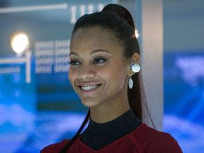 Star Trek's Zoe Saldana
