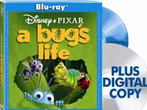 A Bug's Life on Blu-ray DVD