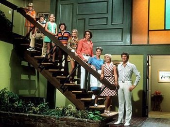 Carol and Mike Brady on The Brady Bunch