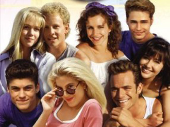 Donna Martin and David Silver on Beverly Hills 90210