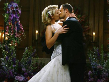 Alex Karev and Izzie Stephens on Grey's Anatomy