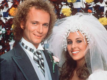Luke Spencer and Laura Webber on General Hospital