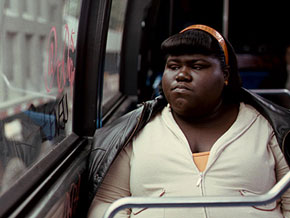 Gabourey Sidibe as Precious