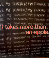 Thank a teacher.