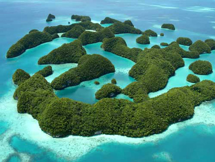 Rock Islands in The Republic of Palau