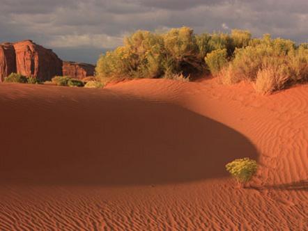 Landscape in Monument Valley, Utah