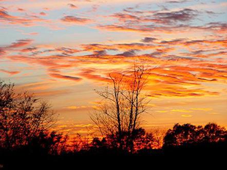 Sunrise in Devonshire, Bermuda