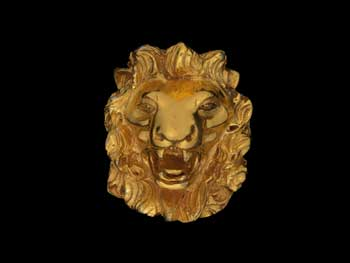 Madeleine Albright's lion pin