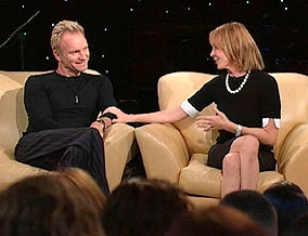 Gordon Sumner, a.k.a. Sting, and Trudie Styler
