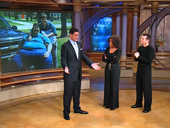 Peter, Bob Greene and Oprah