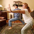Dr. Oz's yoga lesson
