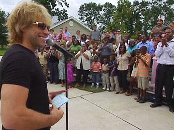 Jon Bon Jovi and new homeowners