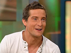 Bear Grylls, host of Man vs. Wild