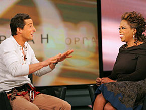 Bear Grylls and Oprah