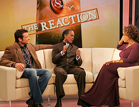 James Arthur Ray, the Rev. Dr. Michael Beckwith and Oprah