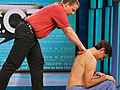 Dr. Oz receives a Rolfing treatment