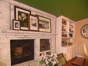 Nate Berkus shows a family how to add personal touches to their fireplace.