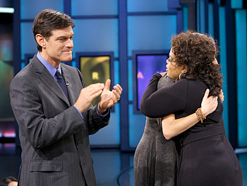 Dr. Oz, Kris Carr and Oprah