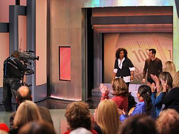 Oprah and Bob Greene