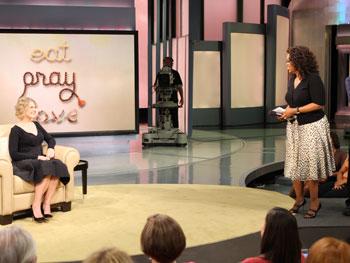 Elizabeth Gilbert and Oprah