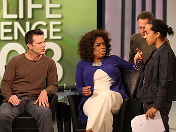 Bob, Oprah, Dean and Andrew