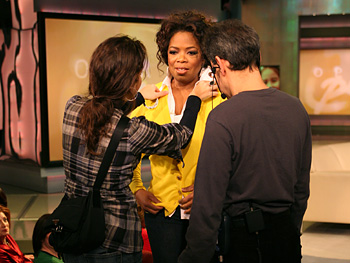 Kelly, Oprah and Dean