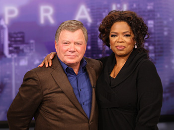 William Shatner and Oprah