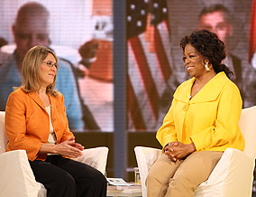 Elizabeth Lesser and Oprah